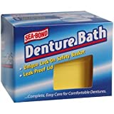 Combe Incorporated *** Denture Bath Sea Bond 1 Per Pack By
