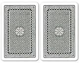 Kem Playing Cards: Kem Club Casino Playing Cards, 2 Black Decks, Super Index