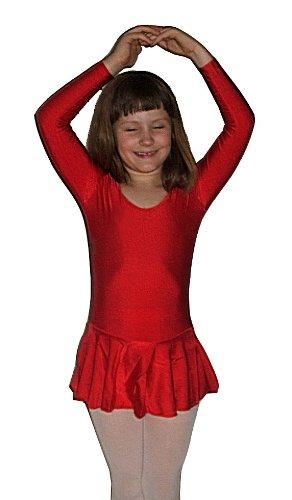 Ballettanzug, Ballettkleid, Trikot fürs Ballett, kurzer Arm