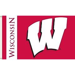 Buy BSI Wisconsin Badgers Premium 3x5 Flag by BSI