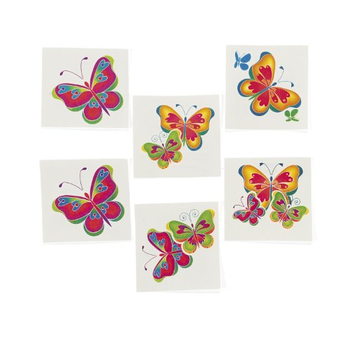 Butterfly Tattoos 36 sheets