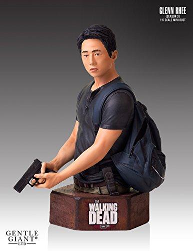 The Walking Dead Glenn Mini Bust Statue (Walking Dead Mini Bust compare prices)