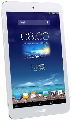 ASUS ME180 シリーズ TABLET / ホワイト ( Android 4.2.2 / 8inch touch / ARM Cortex-A9 / 1G / 16G / BT3 ) ME180-WH16