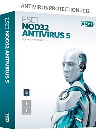 ESET NOD32 Antivirus V5 1 User 1 Year (PC)