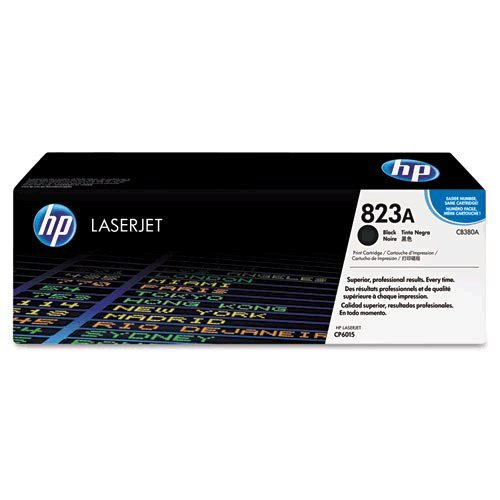 Hewlett Packard (HP) CB380A 823A OEM Laserjet: Black Yields 16,500 Pages принтер hewlett packard hp laserjet pro 400 m401n