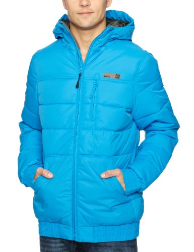 Rip Curl Long Puffer Men's Jacket Blue Aster X-Large