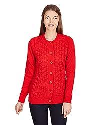 Aurelia Women's Sweater (15AUK80021-00978_Red_S)