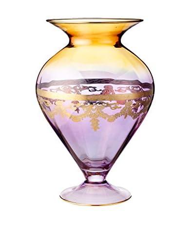 A Casa K Melodia 16 Engraved Crystal Vase