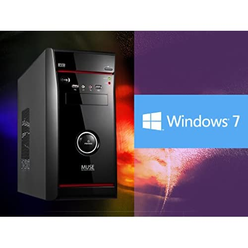 UフォレストPC ゲーミングデスクトップ【CPU Core i7/メモリ8GB/HDD1TB/DVDマルチドライブ搭載/GTX750/OS Windows7pro】 (ブラック[Windows7モデル])