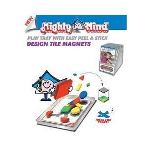 MightyMind Magnetic Design Tray & Tile Magnets