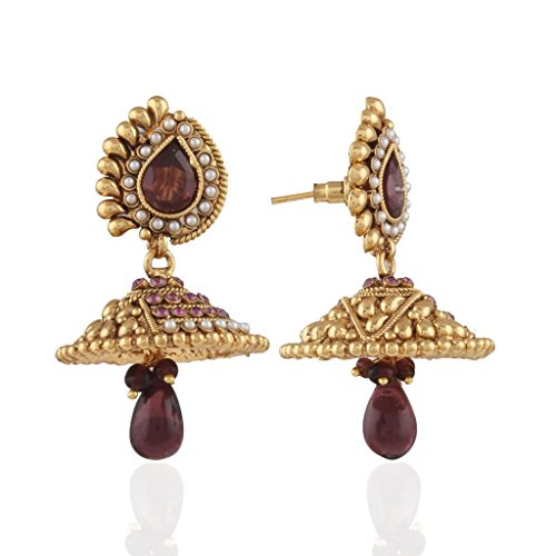 ACCESSER FEATHERILIOUS JHUMKI (orange)
