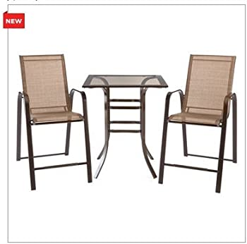 Simple Outdoor Oasis Piece Counter Height Set