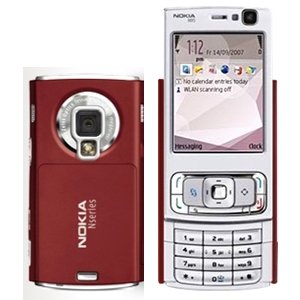 Nokia N95 Genuine Game Smart Symbian Mobile phone (Red, Ordinary version)