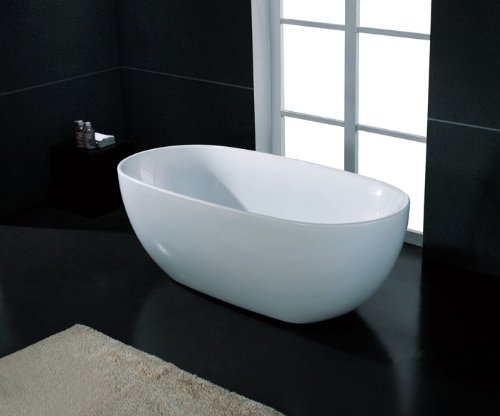 Best Price! AKDY Bathroom White Color FreeStand Acrylic Bathtub AZ-F277