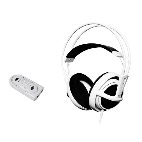 Steelseries Siberia Full-Size Usb Headset (White)