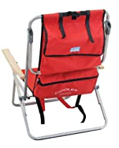 Rio Brands Gear 5 Position Steel Backpack Chair with Cooler