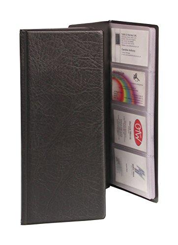 goldline-cbc4pz-business-card-holder-pvc-64-pockets-for-128-cards-280-x-110-mm-black
