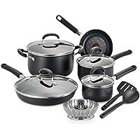 T-fal C085SC74 Non-Stick 12-Piece Cookware Set