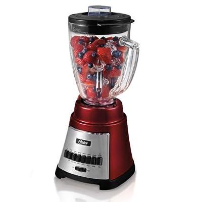 Oster Blstfg-r00-000 - 12-speed Blender - Metallic Red Kitchen Appliances