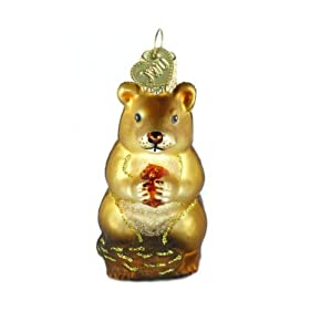 Old World Christmas Ornament Chipmunk