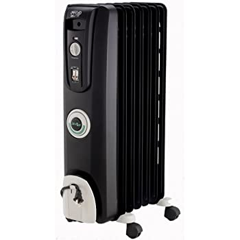 The DeLonghi EW7707CB Safeheat 1500W ComforTemp Portable Oil-Filled Radiator will effectively heat any room in the home. The unit is permanently sealed with pure diathermic oil for stable, efficient heating and never needs refilling. Patented thermal...