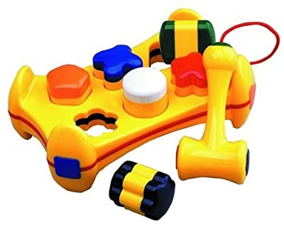 Tolo Toys Shape Sorter Play Bench by Small World Toys