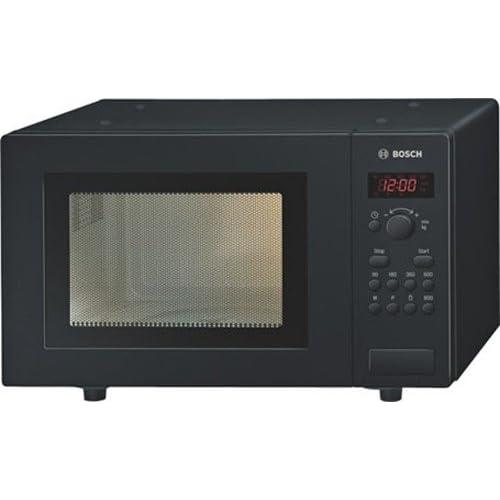Bosch BOSHMT75M461B 17 litre 800 watt Freestanding Solo Microwave Oven, Black