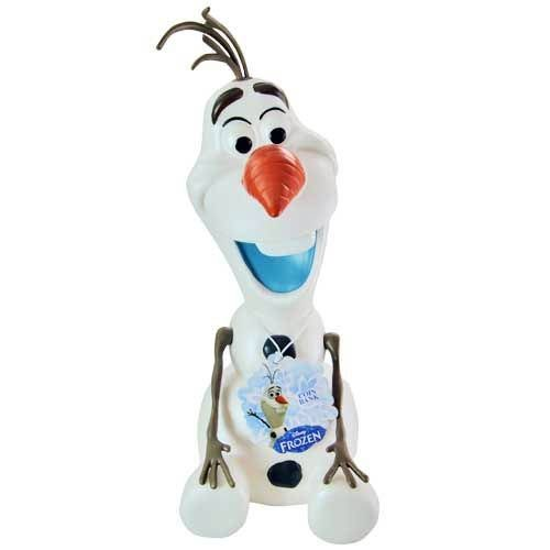 Disney Frozen - Olaf Molded Coin Bank - 1