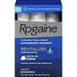 Rogaine Foam 3 Month Supply Mens Hair Growth