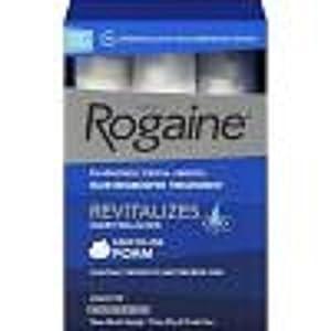 Rogaine Foam 3 Month Supply Mens Hair Growth