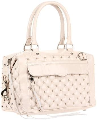 Rebecca Minkoff Mab Stud  Shoulder Bag,White,One Size