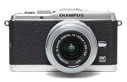 Japanhobbytool Olympus Pen E-P3 Camera Leather Decoration Sticker Leica1 type 4008 Black