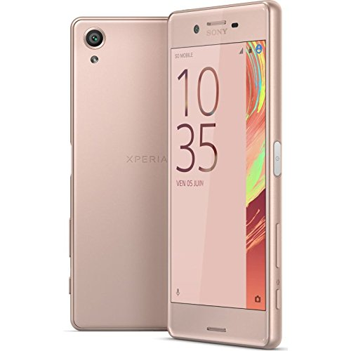 """Sony Xperia X Performance Smartphone Unlocked 4G LTE (Screen: 5"""" - 64 GB - Dual Nano-SIM - Android Marshmallow 6.0) (Rose Gold)"""