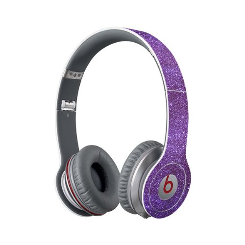 Beats Solo Full Headphone Wrap In Sparkling Amethyst (Headphones Not Included)