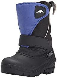 Tundra 192-40095 Boot,Black/Royal,5 M US Infant