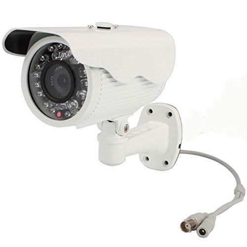 "1 /3"" Wall-Mounted Sony Ccd Security Camera - 6Mm Lens 420Tvl Φ8(12Pcs)+Φ5(18Pcs)Led, Whtie"