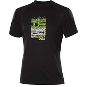 Asics Running Fitness Sportshirt Hermes Graphic Top Hommes 0931 Art. 100112 Taille S