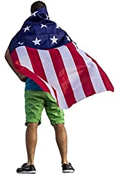 FreedomCapes American Flag Cape