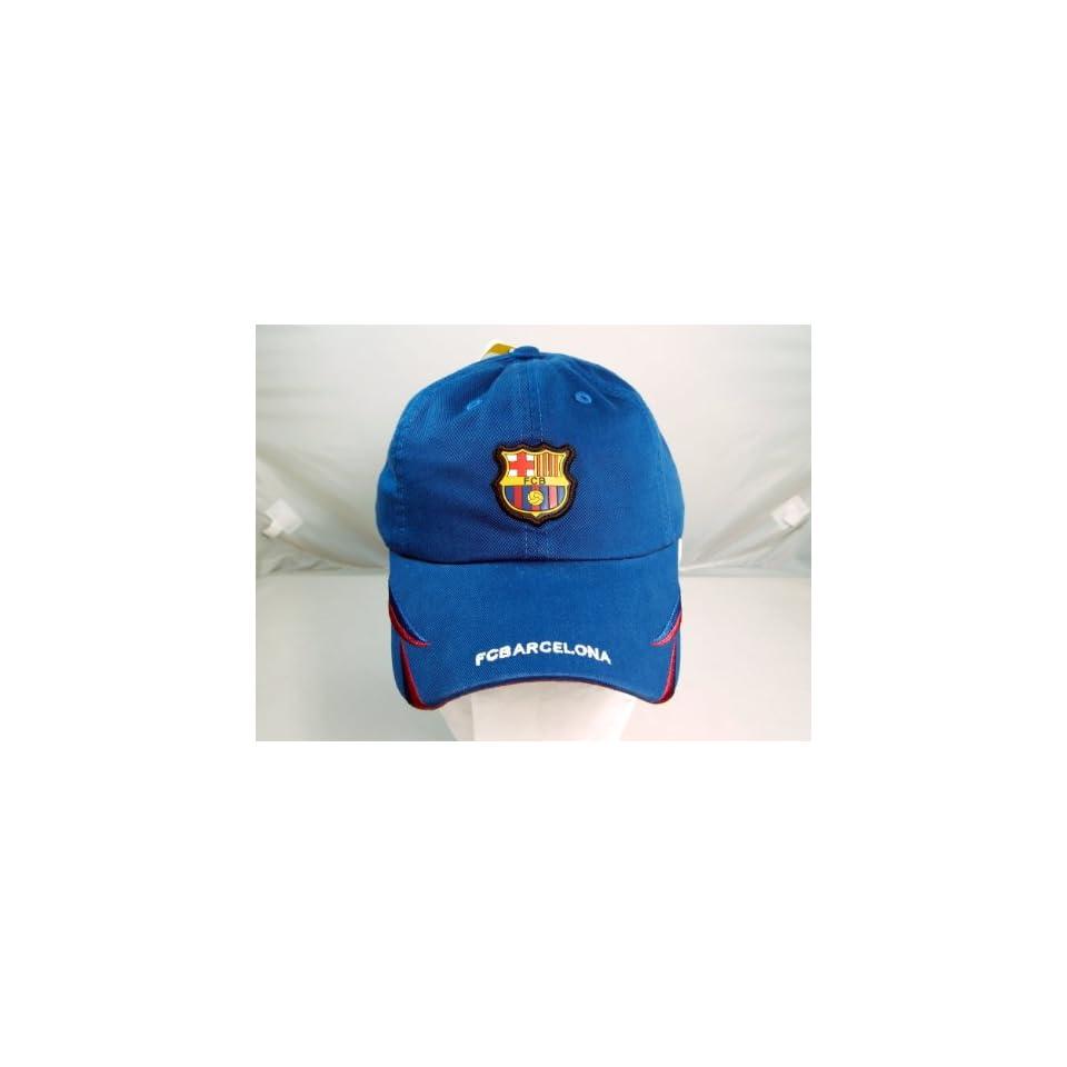 FC BARCELONA OFFICIAL TEAM LOGO CAP / HAT   FCB032