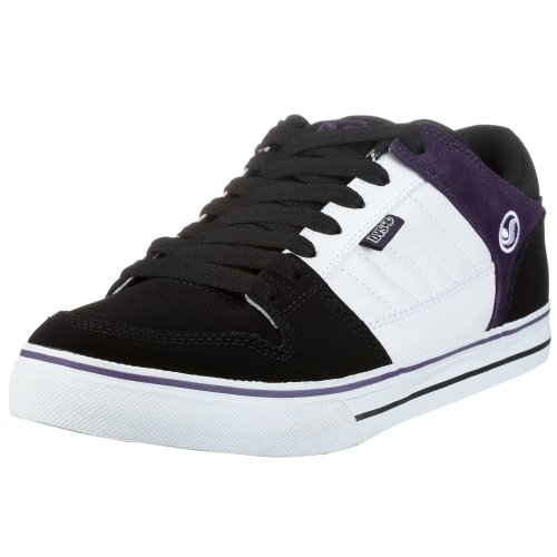DVS Men's Munition CT FA2 Sneaker,Black/Purple,10 M US