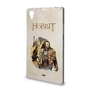 Handyschale Handycase für Sony Xperia Z1 veredelt mit YOUNiiK Styling Skin - Der Hobbit Thorin