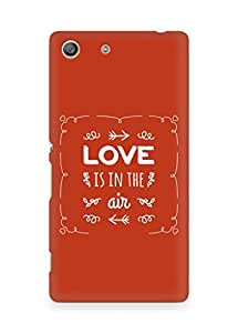 Amez Love is in the Air Back Cover For Sony Xperia M5