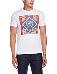 U.S.Polo.Assn. Men's T-Shirt (8907259652719_USTS2410_Medium_Ivory)