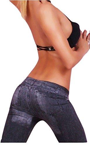 Blu denim Wear-jeans skinny Pantacollant jeans Fun Shack-Calze, misure 8 10 12