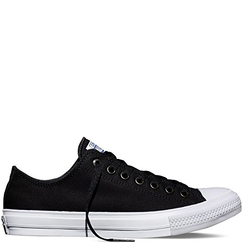 Converse Unisex CT Ox Black/White Shoes Sneakers- 144271C
