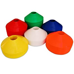 Buy Set of 25 World Sport Disc Cones (6 Colors to Choose From) by World Sport