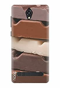 Noise Chocolate Bars Printed Cover for Micromax Canvas Blaze 4G Q400