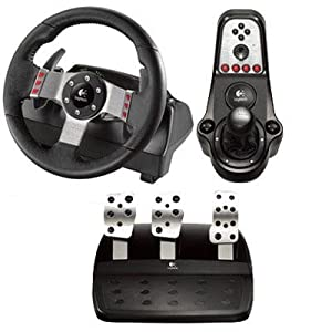 Logitech, G27 Racing Wheel (Catalog Category: Input Devices / Trackballs & Keypads)