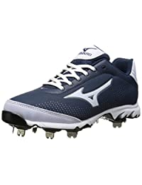 Mizuno Usa Mens 9 Spike Vapor Elite 7 NY Wh Baseball Shoe