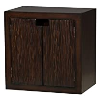 Hot Sale Padma's Plantataion Modulare Cabinet, Dark Finish